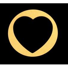 """12 1/4"""" Circle Heart"""