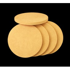 "3"" Discs, made from wood fiber, 5 pcs"